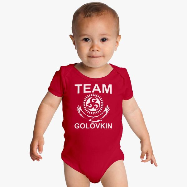 Gennady Golovkin Team Baby Onesies - Customon