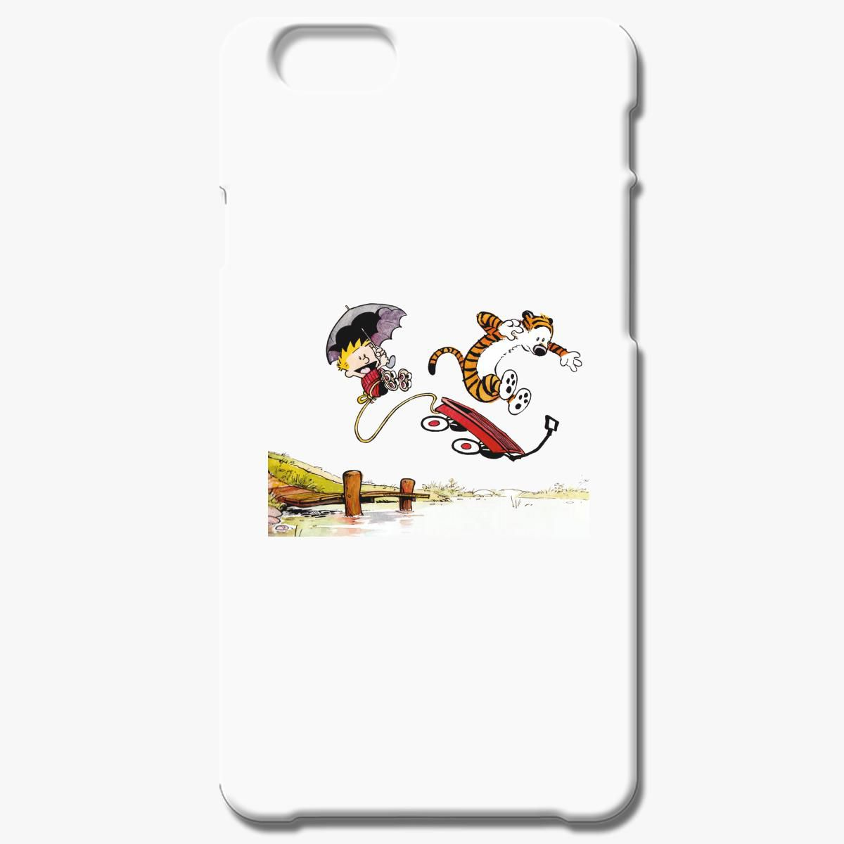 Calvin And Hobbs Jumping Iphone 6 6s Plus Case