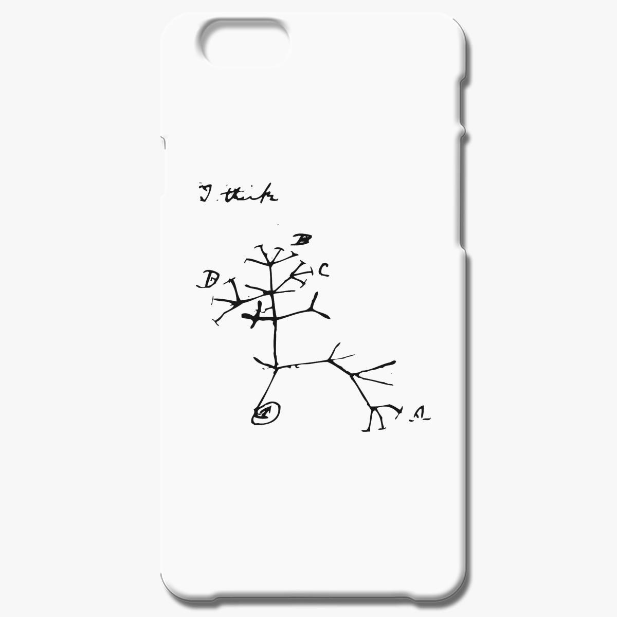 Darwin I Think Tree Iphone 6 6s Plus Case