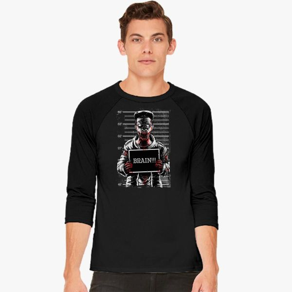 Zombie Prison Baseball T-shirt - Customon