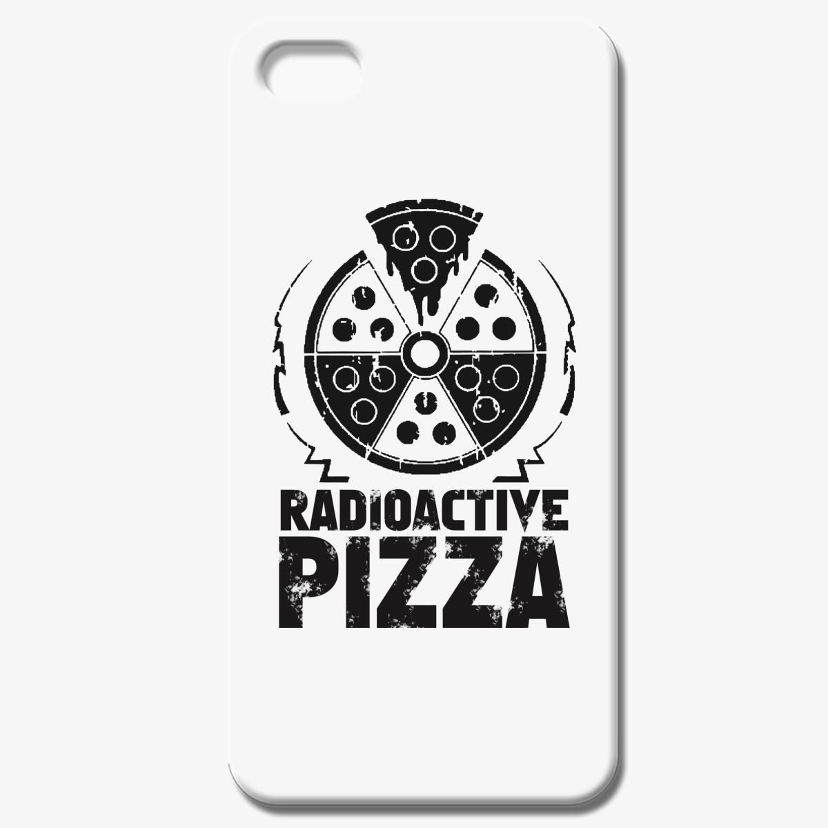 Radioactive Pizza T Shirt Black Iphone 7 Case