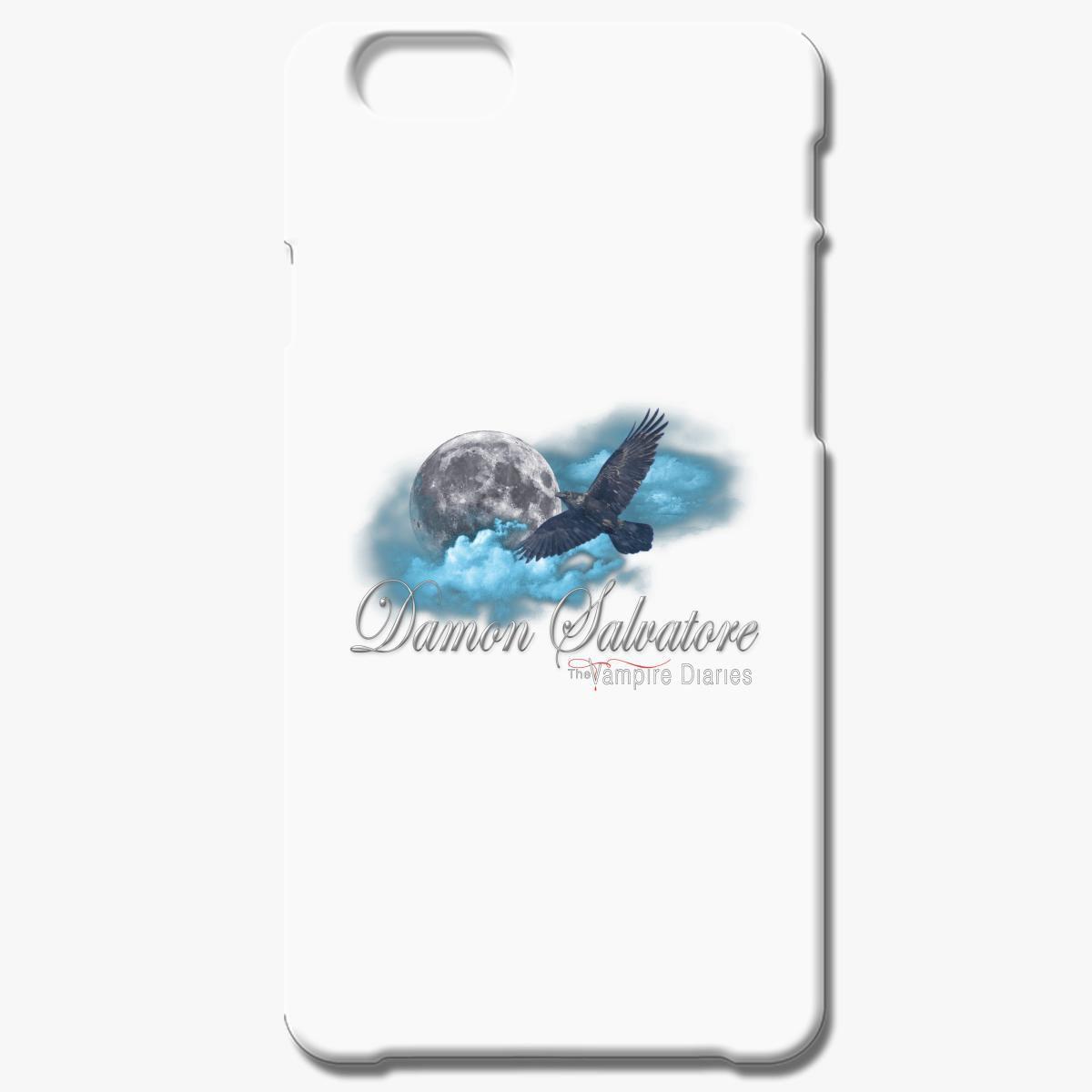 Damon Salvatore The Vampire Diaries Raven Moon Blue Clouds