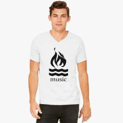 Hot Water Music Shirt Photocell Diagram Wiring V Neck T Customon Com