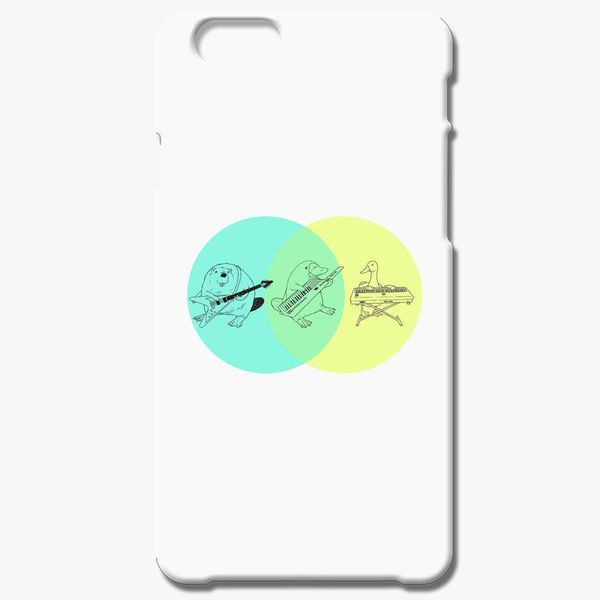 platypus venn diagram what is a dot keytar iphone 6 6s plus case customon com