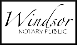 notary public in Windsor, ON