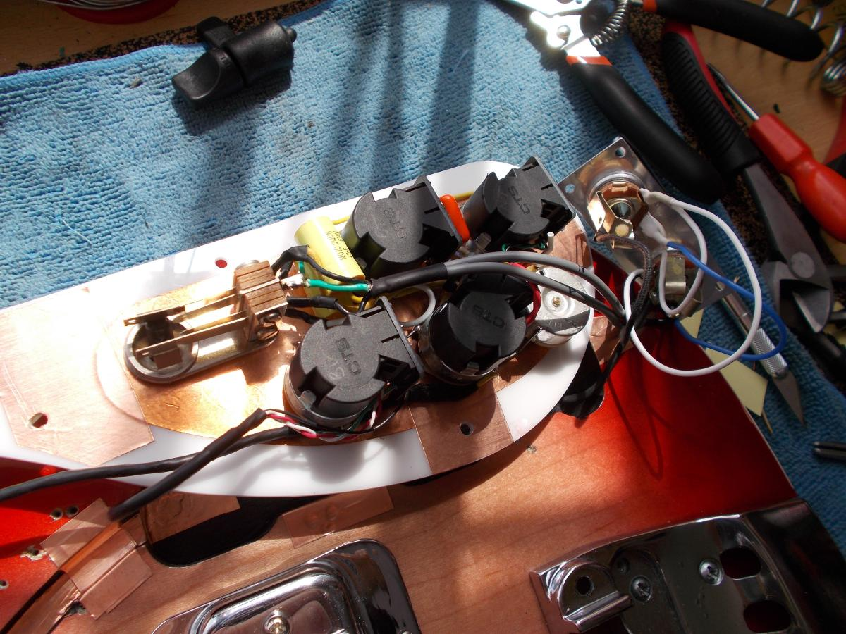hight resolution of rickenbacker 4001 custom wiring harness
