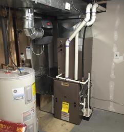 this was originally a heat pump heating and cooling system which was replaced with a 95 5 [ 900 x 1200 Pixel ]