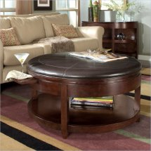 Magnussen Brunswick Cocktail Table With Casters