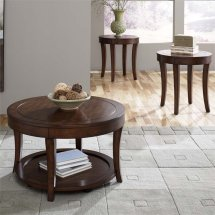 Liberty Furniture Casual Living 3 Piece Coffee Table Set
