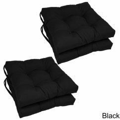 Wicker Chair Cushions With Ties Power Companies Blazing Needles 16 Patio Cushion Set Of 4