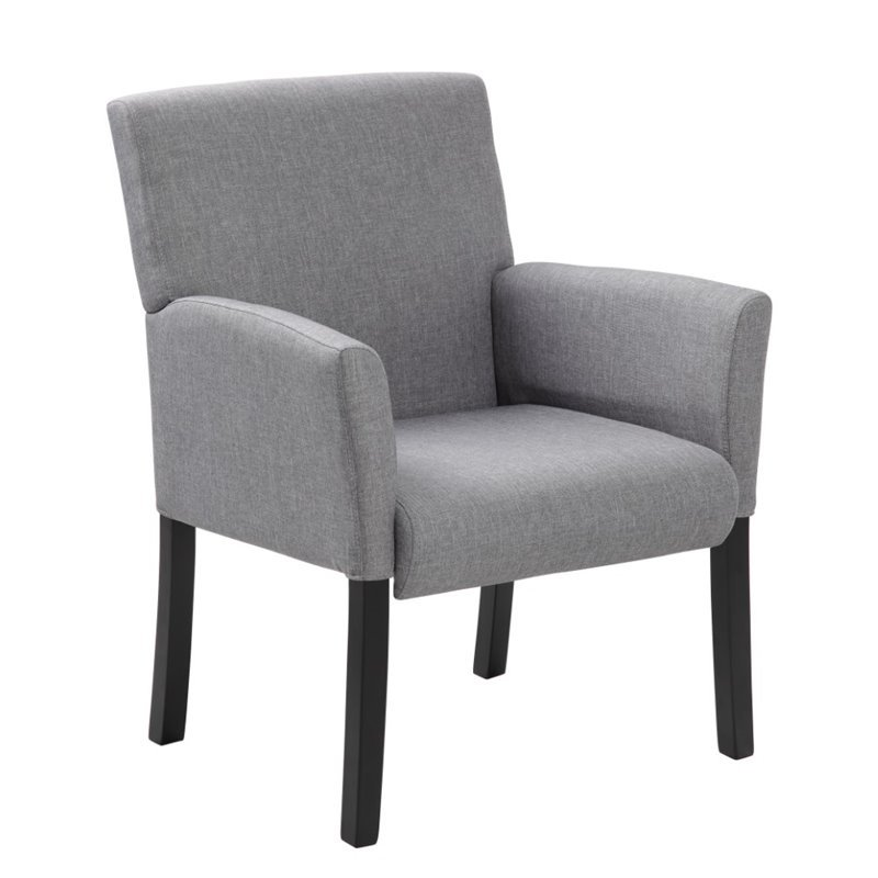 Contemporary Guest Chair in Gray  B659MG
