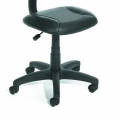 Posture Deluxe Chair Swivel Sofa Adjustable Black Leather B305