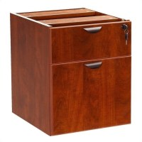 Boss Office Products Lateral Wood Hanging File Cherry ...