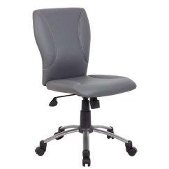 Microfiber Office Chair Patio Sling Fabric Boss Tiffany B220 Xx