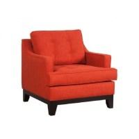 Zuo Chicago Accent Chair in Burnt Orange - 100173