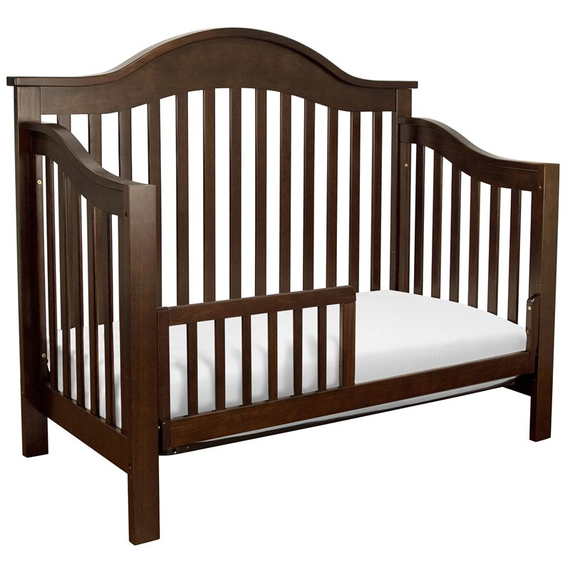 davinci jayden 4 in 1 convertible crib in espresso