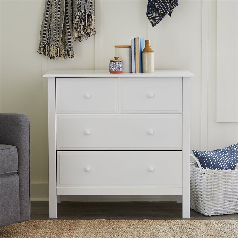 DaVinci Autumn 4 Drawer Changer Dresser in White Baby Changing Table  eBay