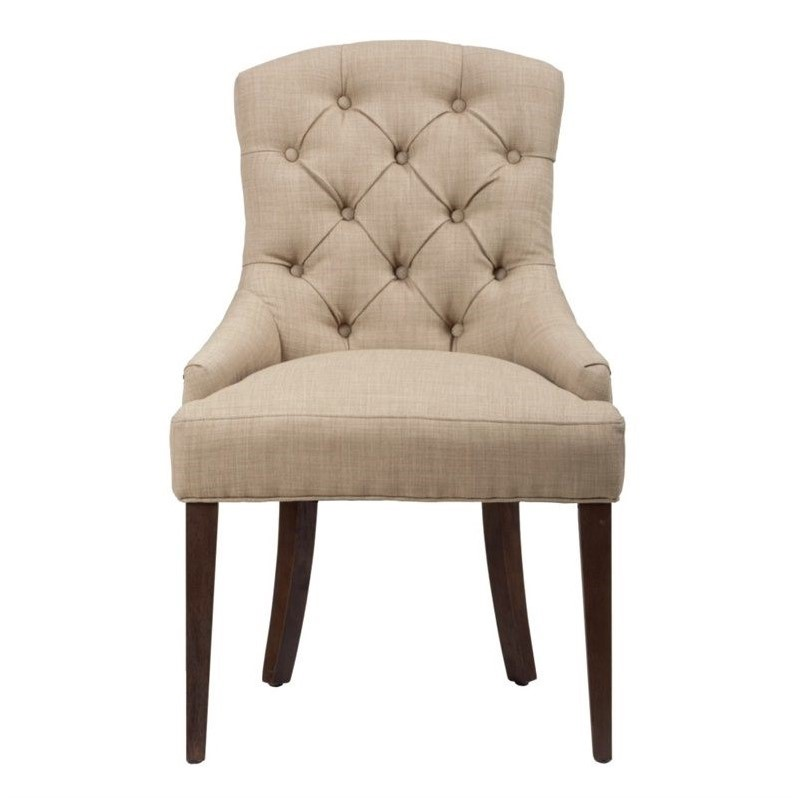 Jofran Geneva Hills Wood Upholstered Dining Chair  678212KD