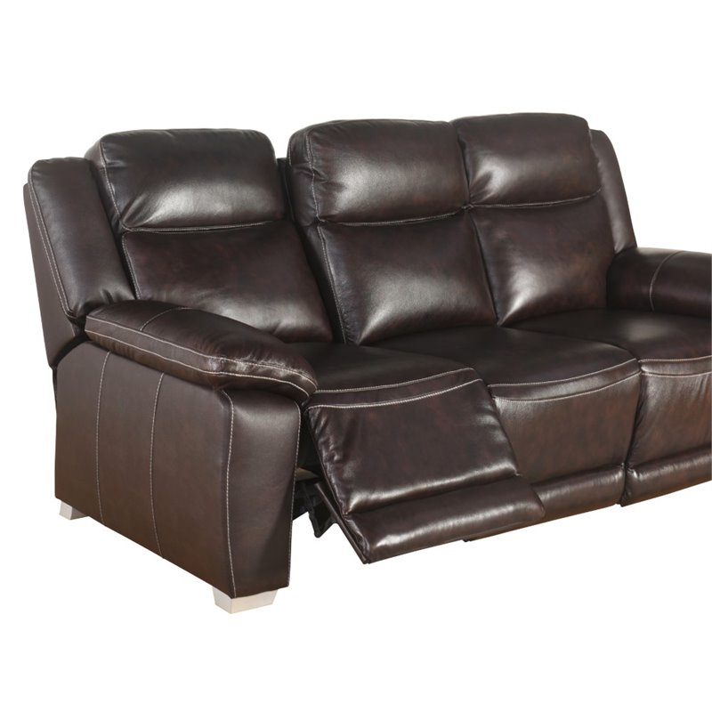 bentley recliner sofa loveseat and armchair set ethan allen hudson top grain leather reclining laude run florham ...