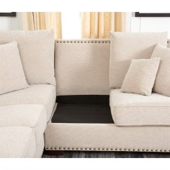 Reclining Sofa With Nailhead Trim The Factory Vadodara Sectional Corner Couch ...