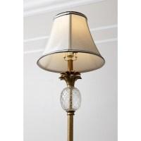 Abbyson Living Valerie Antiqued Pineapple Floor Lamp in ...