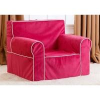 Abbyson Living Kids Mini Fabric Armchair in Pink - BR-K ...