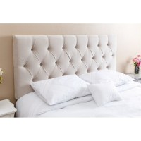 Abbyson Dakota Tufted Headboard in Ivory
