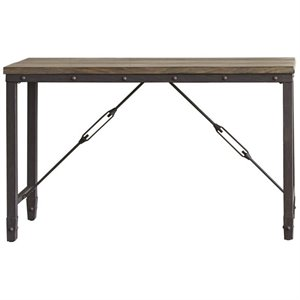 steve silver dylan sofa table cloud ii sectional furniture at cymax for sale jersey industrial console in antique tobacco