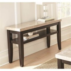 Steve Silver Dylan Sofa Table Modular Black Leather Furniture At Cymax For Sale Monarch Entertainment In Dark Cherry