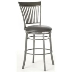 Bar Stool Chair Grey Low Profile Camping Chairs Stools Cymax Stores Steve Silver Company Milo Swivel Counter In Gray