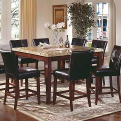 Steve Silver Dining Chairs Discontinued Henredon Company Montibello 7 Piece Counter Height Set Mn5454pt Pkg2