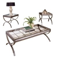 Steve Silver Company Emerson 3 Piece Coffee and End Table ...