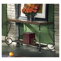 steve silver dylan sofa table convertible folding bed sleeper with armrests company in cherry finish dy300s ellery