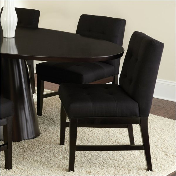 Fabric Upholstered Parson Chairs