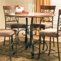Steve Silver Company Thompson Round Counter Height Dining ...