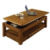 Steve Silver Nelson Lift Top Coffee Table in Oak - NL300CLK