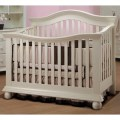 Vista couture baby crib in french white review best baby cribs sale