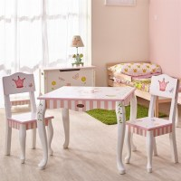Fantasy Fields Hand Painted Princess and Frog Table and ...