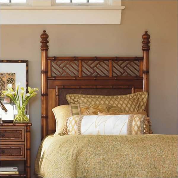Tommy Bahama Home Island Estate West Indies Twin Poster Headboard In Maple Finish - 531-161hb