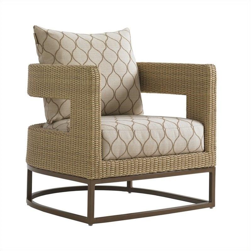 Tommy Bahama Home Aviano Wicker Barrel Chair  3220115X