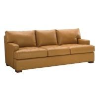 Tommy Bahama Island Fusion Osaka Leather Sofa in Supple ...