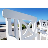 Outdoor Wood Armchair - V1341