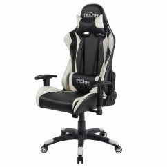 Pc Gaming Chair Office Depot Plus Size Techni Sport In White - Rta-ts46-wht