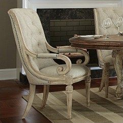 Upholstered Arm Dining Chair Home Depot Adirondack Chairs American Drew Jessica Mcclintock The Boutique In White Veil 217 637w