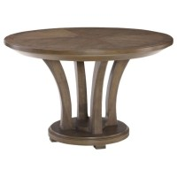 "American Drew Park Studio 48"" Round Wood Dining Table in ..."