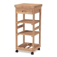 Unfinished Kitchen Cart Open Sink Trolley Wc 1515