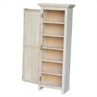 "Unfinished 48"" Storage Cabinet - CU-15"