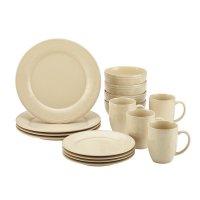 Rachael Ray Cucina Dinnerware 16 Piece Dinnerware Set in ...
