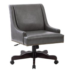 Pewter Chair Covers Sashes Office Star Inspired By Bassett Desk In Bonded Bp Evrex Bd26