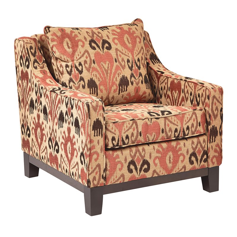 ave six chair under laptop stand office star accent in arizona rust rgt51 j6